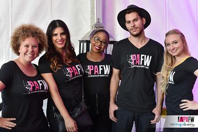 part of the Park Avenue Fashion Week 2015 VIP volunteer team